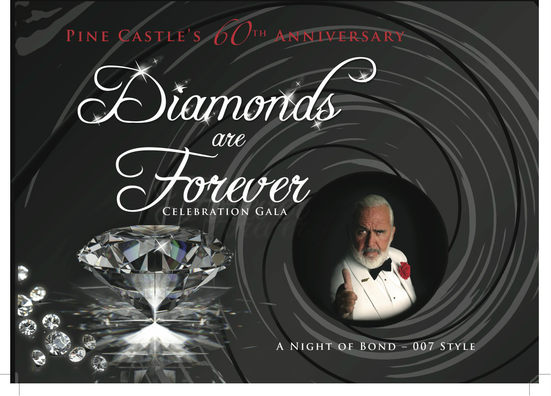 Diamonds are forever celebration gala, a night of James Bond - 007 style
