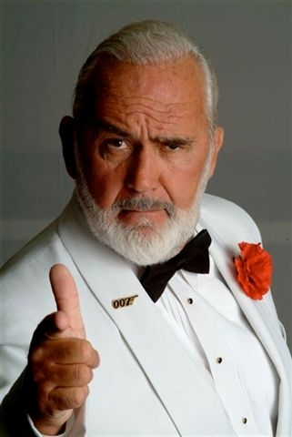 James Bond lookalike Sean Connery impersonator MC Host